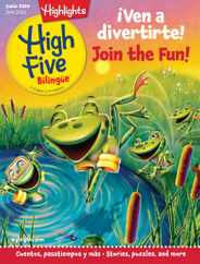 Highlights High Five Bilingue Magazine Subscription June 1st, 2020 Issue