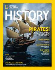 National Geographic History Magazine Subscription March 1st, 2016 Issue