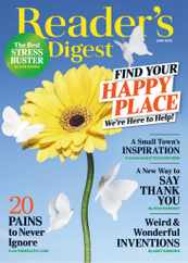 Reader's Digest Magazine Subscription June 1st, 2020 Issue
