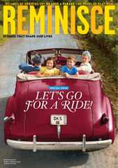 Reminisce Magazine Subscription June 1st, 2020 Issue