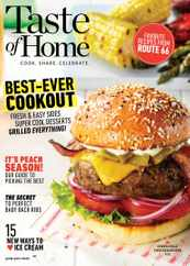 Taste of Home Magazine Subscription June 1st, 2020 Issue