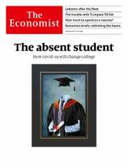 The Economist Magazine Subscription August 8th, 2020 Issue