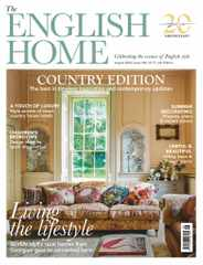The English Home Magazine Subscription August 1st, 2020 Issue