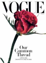 Vogue Magazine Subscription June 1st, 2020 Issue