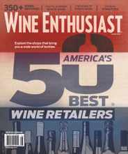 Wine Enthusiast Magazine Subscription August 1st, 2020 Issue