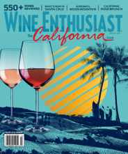 Wine Enthusiast Magazine Subscription June 1st, 2020 Issue
