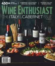 Wine Enthusiast Magazine Subscription September 1st, 2020 Issue