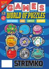 Games World of Puzzles Magazine Subscription August 1st, 2020 Issue