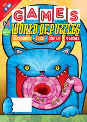 Games World of Puzzles Magazine Subscription June 1st, 2020 Issue