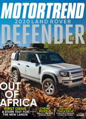 Motor Trend Magazine Subscription June 1st, 2020 Issue