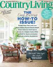 Country Living Magazine Subscription September 1st, 2020 Issue