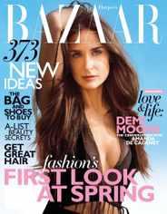 Harper's Bazaar Magazine Subscription January 17th, 2012 Issue