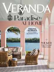 Veranda Magazine Subscription May 1st, 2020 Issue