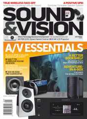 Sound & Vision Magazine Subscription August 1st, 2020 Issue
