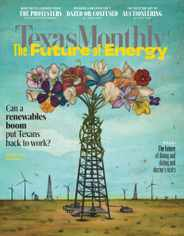 Texas Monthly Magazine Subscription July 1st, 2020 Issue