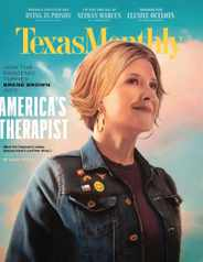 Texas Monthly Magazine Subscription June 1st, 2020 Issue