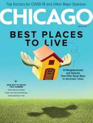 Chicago Magazine Subscription June 1st, 2020 Issue