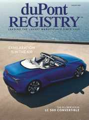 Dupont Registry Magazine Subscription August 1st, 2020 Issue