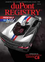 Dupont Registry Magazine Subscription June 1st, 2020 Issue