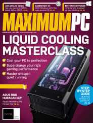 Maximum PC Magazine Subscription May 1st, 2020 Issue