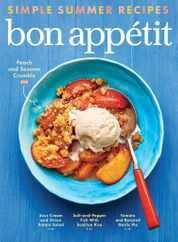 Bon Appetit Magazine Subscription August 1st, 2020 Issue
