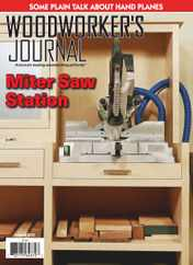 Woodworker's Journal Magazine Subscription August 1st, 2020 Issue