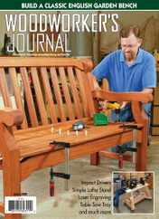 Woodworker's Journal Magazine Subscription June 1st, 2020 Issue