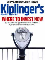 Kiplinger's Personal Finance Magazine Subscription July 1st, 2020 Issue