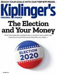 Kiplinger's Personal Finance Magazine Subscription September 1st, 2020 Issue