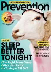 Prevention Magazine Subscription September 1st, 2020 Issue