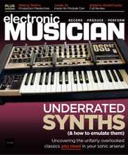 Electronic Musician Magazine Subscription July 1st, 2020 Issue