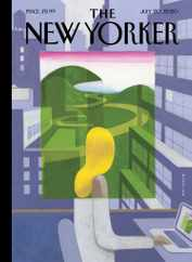 The New Yorker Magazine Subscription July 20th, 2020 Issue