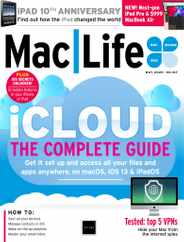MacLife Magazine Subscription May 1st, 2020 Issue