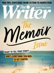 The Writer Magazine Subscription August 1st, 2020 Issue