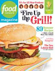 Food Network Magazine Subscription June 1st, 2020 Issue