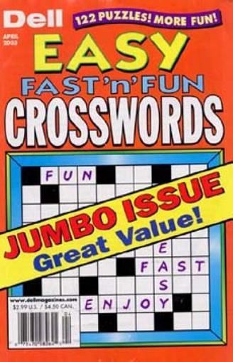 Dell Best Easy Fast 'n Fun Crosswords