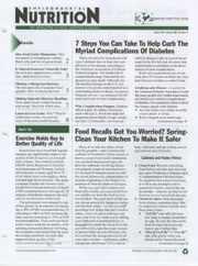 Environmental Nutrition Magazine Subscription