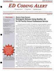 ED Coding Alert Magazine Subscription
