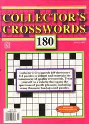 Collector's Crosswords Magazine Subscription