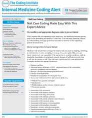 Internal Medicine Coding Alert Magazine Subscription