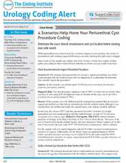 Urology Coding Alert Magazine Subscription
