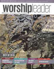 Worship Leader Magazine Subscription