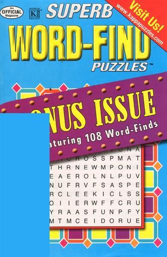 Superb Word Find Bonus