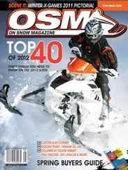 On Snow Magazine Subscription