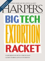 Harpers Magazine Subscription September 1st, 2020 Issue