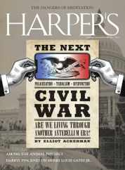 Harpers Magazine Subscription April 1st, 2021 Issue