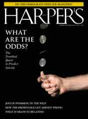 Harpers Magazine Subscription August 1st, 2021 Issue