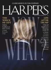 Harpers Magazine Subscription February 1st, 2021 Issue