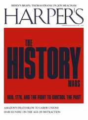 Harpers Magazine Subscription July 1st, 2021 Issue