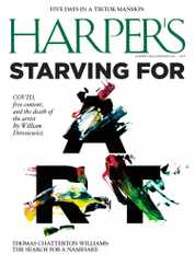 Harpers Magazine Subscription June 1st, 2021 Issue